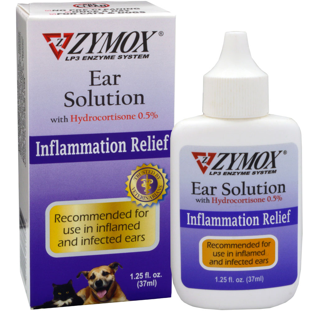 Zymox Enzymatic Ear Solution Uk Stock With 0 5