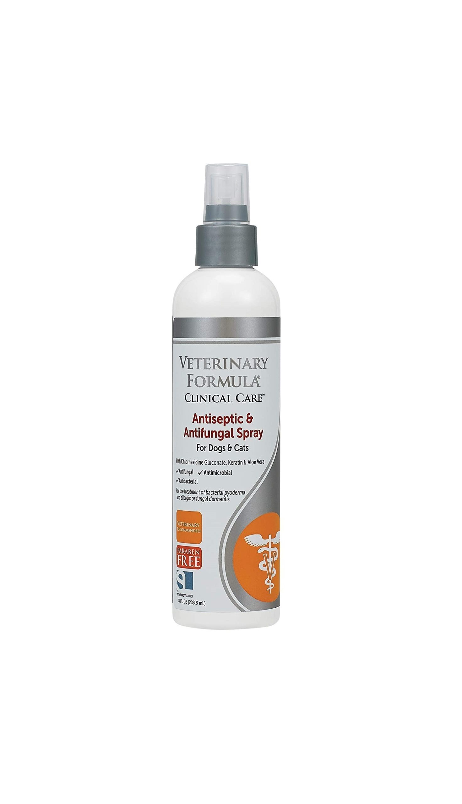 Veterinary ForAntiseptic and Antifungal Spray for dogs and catsmula Clinical Care