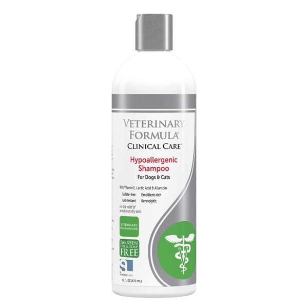 veterinary formula Hypoallergenic/sensitive skin Shampoo for Dogs and Cats